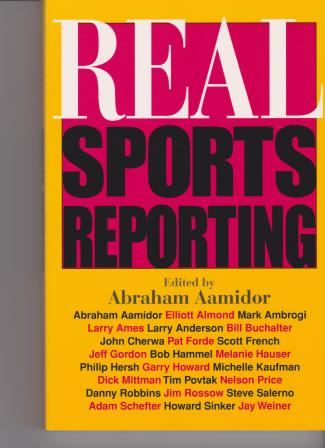 Book Cover Sports Reporting