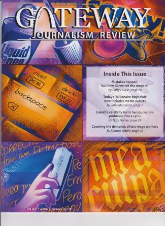 Gateway Journalism Fall 2013